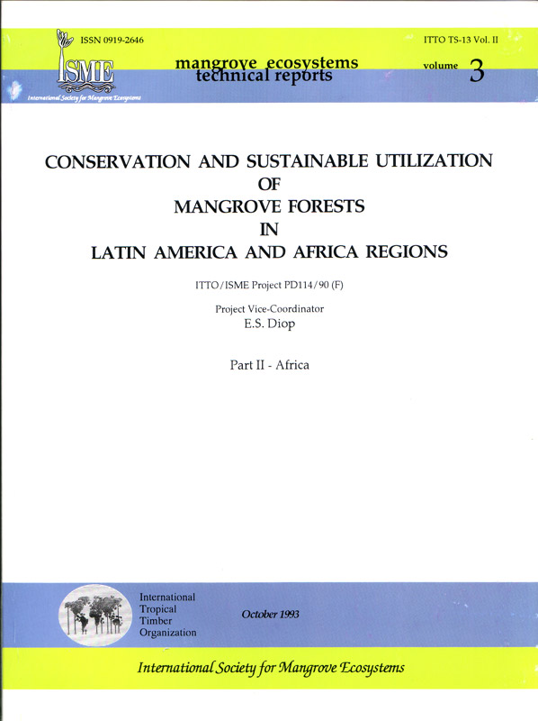 ISME Mangrove Ecosystems Technical Reports Vol. 3 - Africa